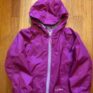 L.L Bean girls jacket size 4